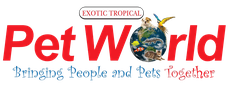 Exotic Tropical Pet World Logo